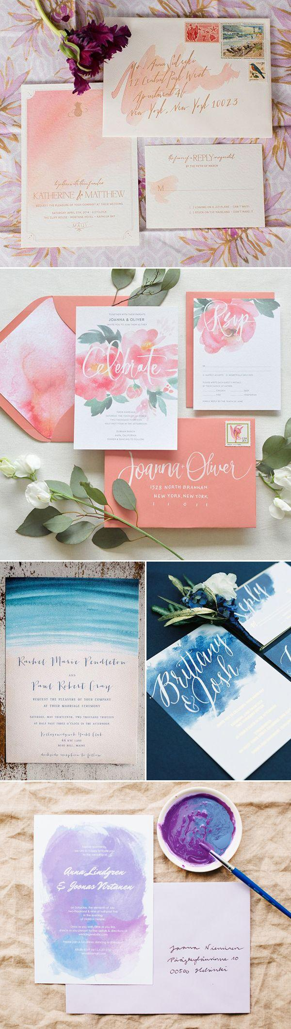 زفاف - Simple Is Beautiful! 30 Creative Invitation Ideas For Minimalist Couples