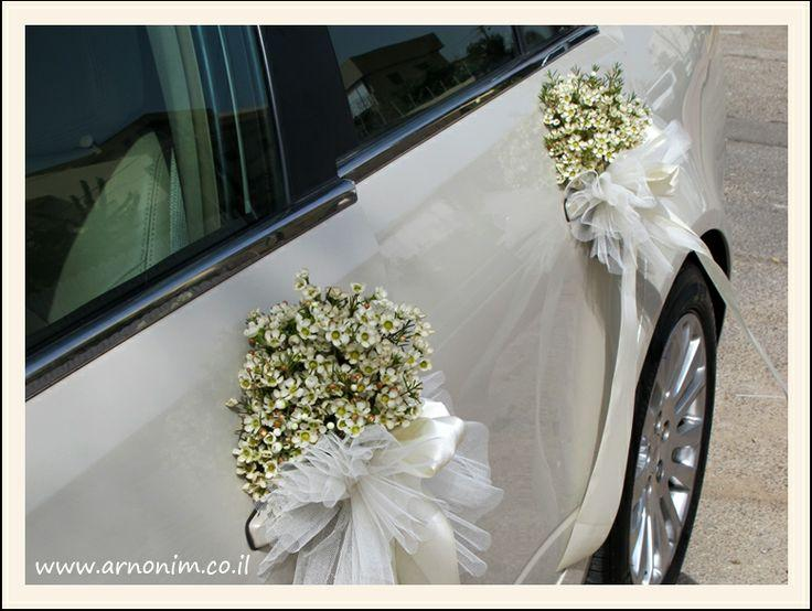 Hochzeit - קישוט רכב Wedding Car Decoration