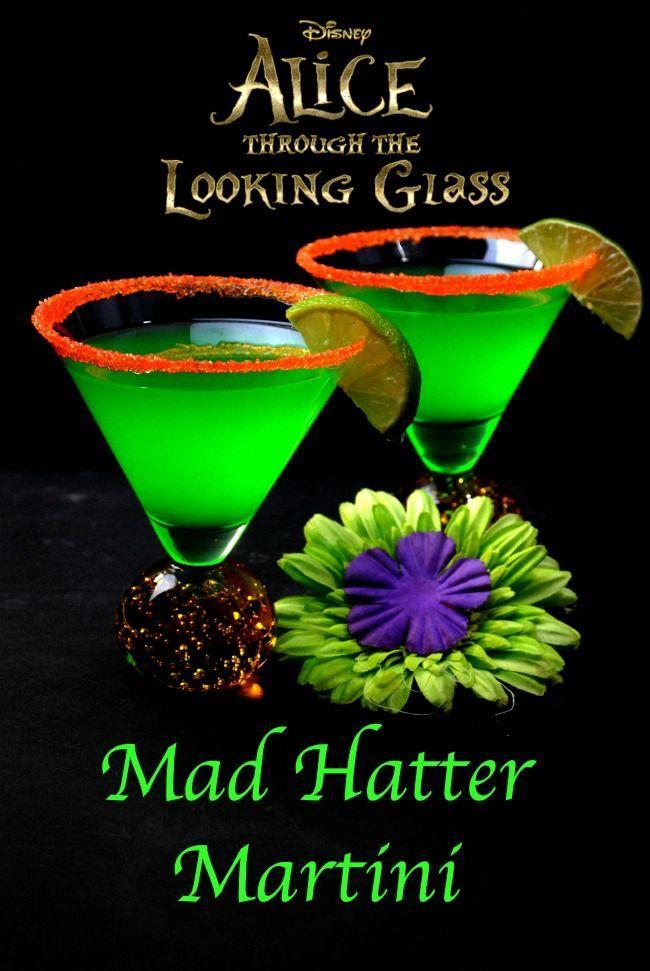 Hochzeit - Mad Hatter Cocktail- Mad Hatter Martini