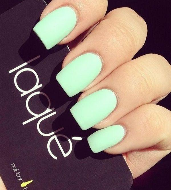 60 Simple Matte Nail Art Designs For Beginners 2504155 Weddbook
