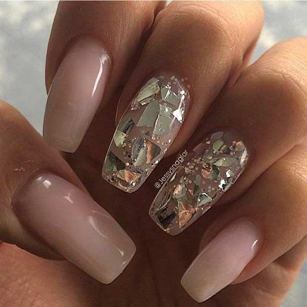 31 trendy nail art ideas for coffin nails 2511276 weddbook 31 trendy nail art ideas for coffin nails prinsesfo Gallery
