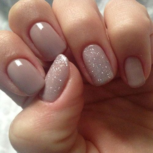 زفاف - Nude Color Nails - 25 Best Nude Nail Polish Manicures