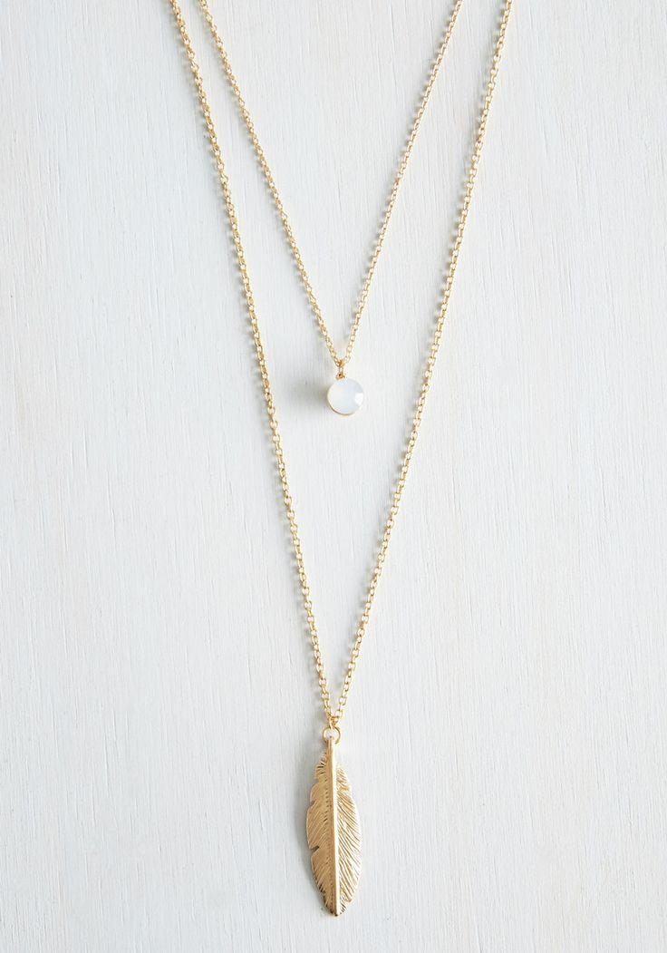 Wedding - The Sooner The Feather Necklace