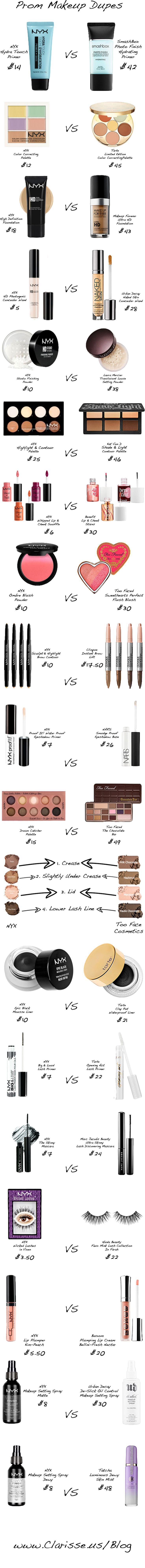 Свадьба - Prom Makeup Dupes: Splurge Vs Steal