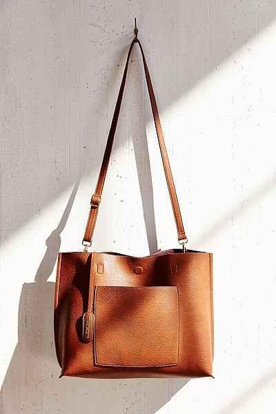 eb93438b8e405 Bags - Reversible Vegan Leather Tote Bag #2533160 - Weddbook
