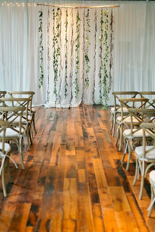 Wedding - The Prettiest Ceremony Backdrops (Made Entirely Of Greenery!)
