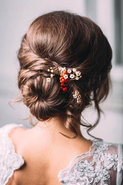 Mariage - 28 Trendy Wedding Hairstyles For Chic Brides