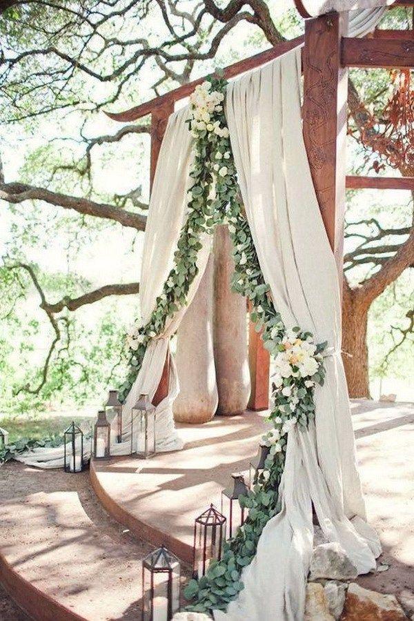 Свадьба - 20 Beautiful Wedding Arch Decoration Ideas