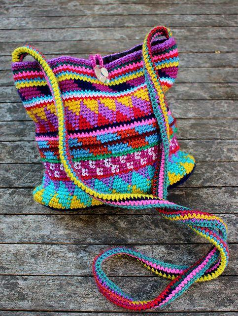 Düğün - Maya Purse Pattern By Fabienne Chabrolin