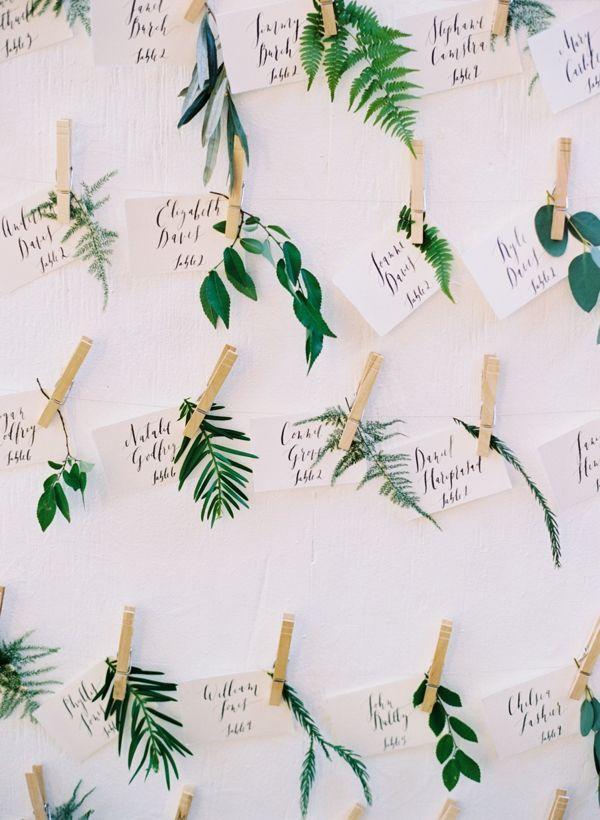 Hochzeit - 11 Creative Ways To Use Greenery In Your Wedding