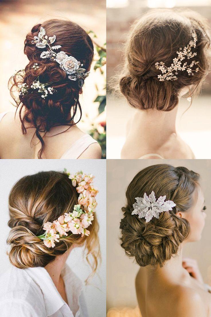 18 Most Romantic Bridal Updos Beautiful Wedding