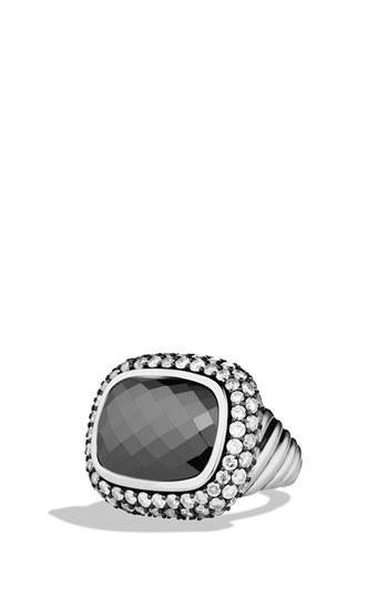 Mariage - David Yurman 'Waverly' Limited-Edition Ring with Gray Diamonds