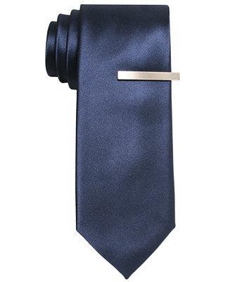 Hochzeit - Alfani Alfani Solid Skinny Tie