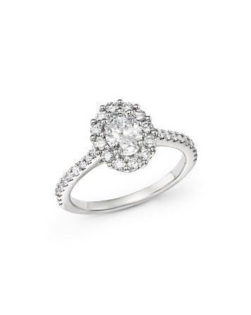 زفاف - Bloomingdale's Oval Diamond Ring in 14K White Gold, 1.30 ct. t.w.