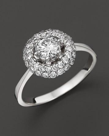 Mariage - Bloomingdale's Diamond Ring in 14K White Gold, .85 ct. tw.