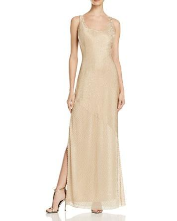 Mariage - Aidan Mattox Embellished Tank Dress - 100% Bloomingdale's Exclusive