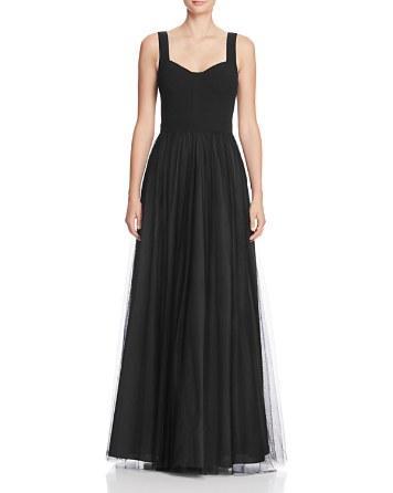 Свадьба - AQUA Tulle Skirt Gown