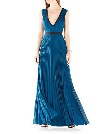 Mariage - BCBGMAXAZRIA Color Block Gown