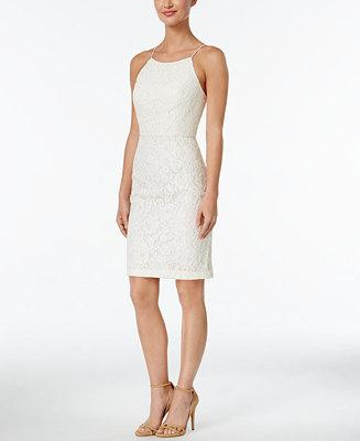 Wedding - Calvin Klein Lace Sheath Dress