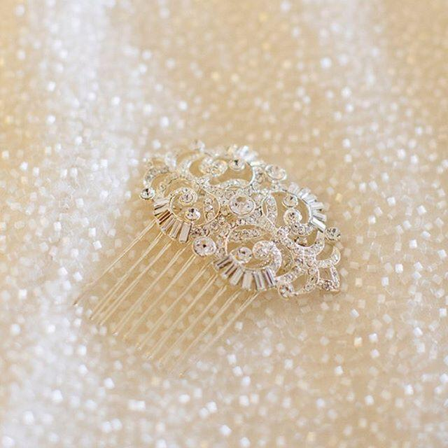 Wedding - hair clip