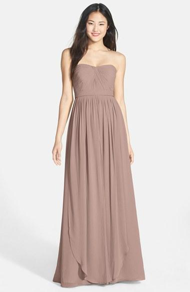 Wedding - Jenny Yoo 'Aidan' Convertible Strapless Chiffon Gown