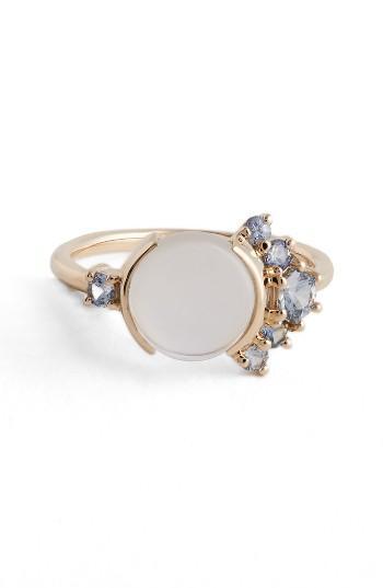Mariage - MOCIUN Moonstone & Sapphire Ring