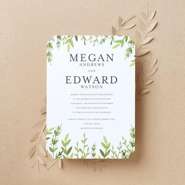 دعوة - Wedding Paper Divas #9 - Weddbook