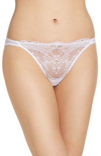 Hochzeit - Wacoal Chrystalle Lace Tanga Panty