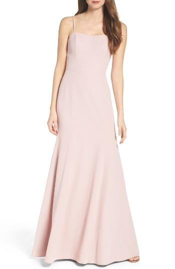 Wedding - WTOO Convertible Strap Chiffon Gown
