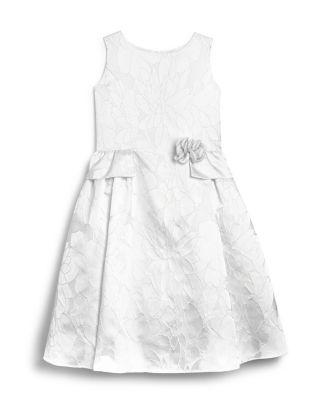 Wedding - US Angels Girls' Brocade Flower Girl Dress - Sizes 7-14