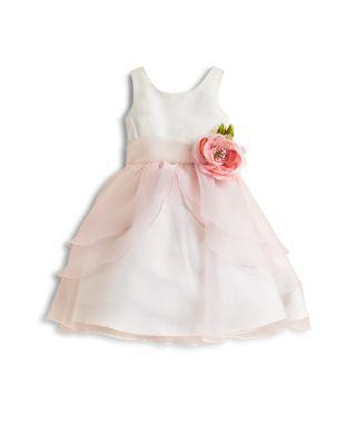 Wedding - US Angels Girls' Organza Flower Girl Dress - Little Kid