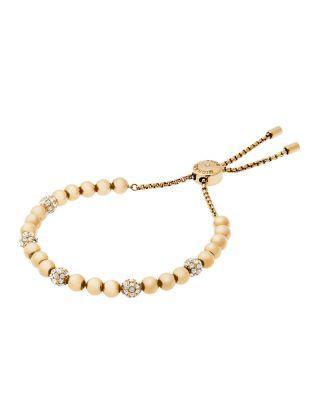 Mariage - Michael Kors Beaded Slider Bracelet