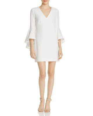 Свадьба - MILLY Bell-Sleeve Nicole Dress