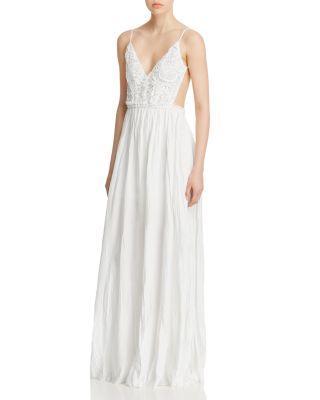 Hochzeit - Olivaceous Open Back Maxi Dress - 100% Exclusive
