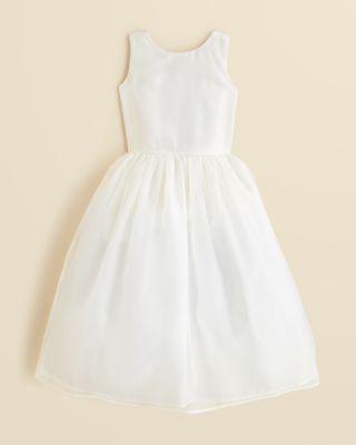 Wedding - US Angels Girls' Organza Tank Dress - Little Kid