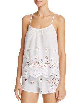 Mariage - In Bloom by Jonquil Eyelet Cotton Cami Tap Set