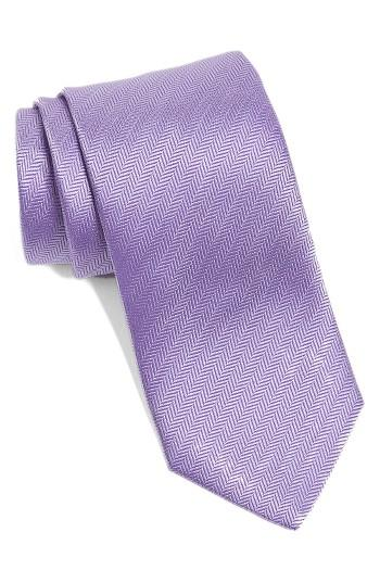 Wedding - Eton Herringbone Textured Silk Tie