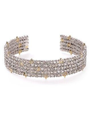 Wedding - Alexis Bittar Crystal Accent Lace Cuff