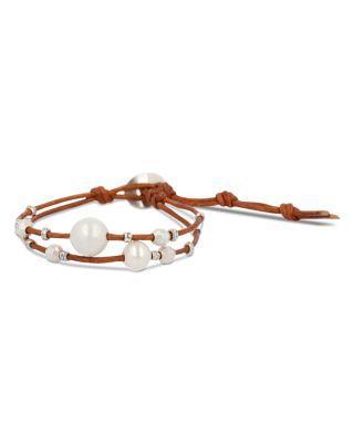 Wedding - Chan Luu Cultured Freshwater Pearl Wrap Bracelet
