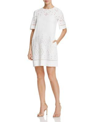 Mariage - Theory Idetteah Eyelet Shift Dress