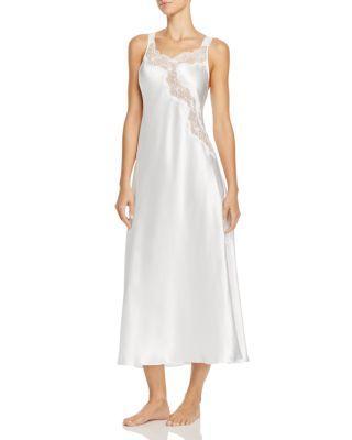 Hochzeit - Oscar de la Renta Pink Label Charmeuse Long Gown