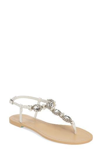 Свадьба - Bella Belle Hera Embellished T-Strap Sandal (Women)