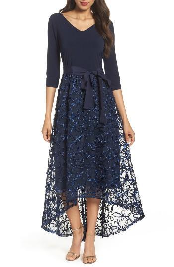 Wedding - Ellen Tracy High/Low Gown