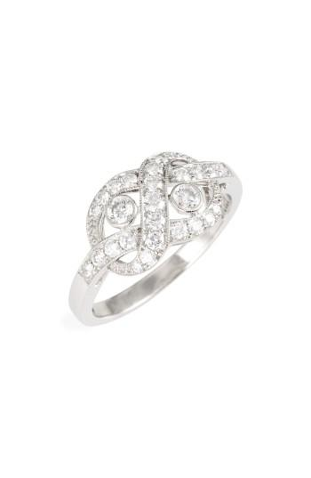Wedding - Kwiat Diamond Knot Ring