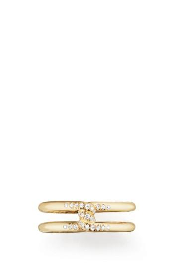 Wedding - David Yurman Continuance Band Ring with Diamonds in 18k Gold, 6.5mm