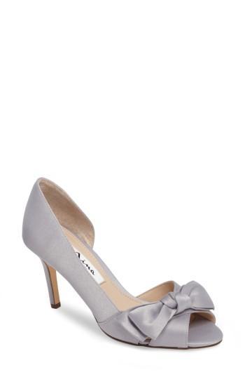Свадьба - Nina 'Forbes' Peep Toe Pump (Women)