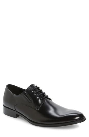 Boda - Reaction Kenneth Cole Get Even Plain Toe Derby (Men)