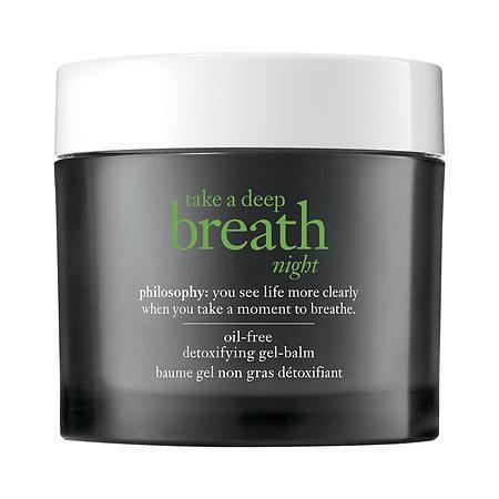 Mariage - Take a Deep Breath Night Oil-Free Detoxifying Gel-Balm