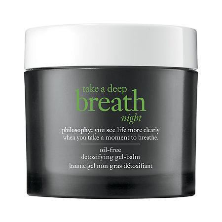 Свадьба - Take a Deep Breath Night Oil-Free Detoxifying Gel-Balm