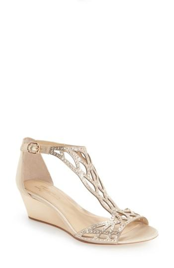 Свадьба - Imagine by Vince Camuto 'Jalen' Wedge Sandal (Women)